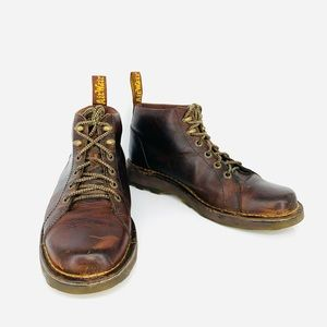 Dr. Martens Tan Bodie Leather Boots Size 11